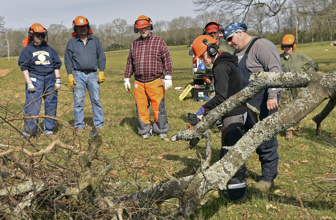 PAR Chainsaw Training