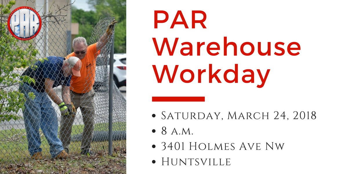 PAR Warehouse Workday 2018-03-24
