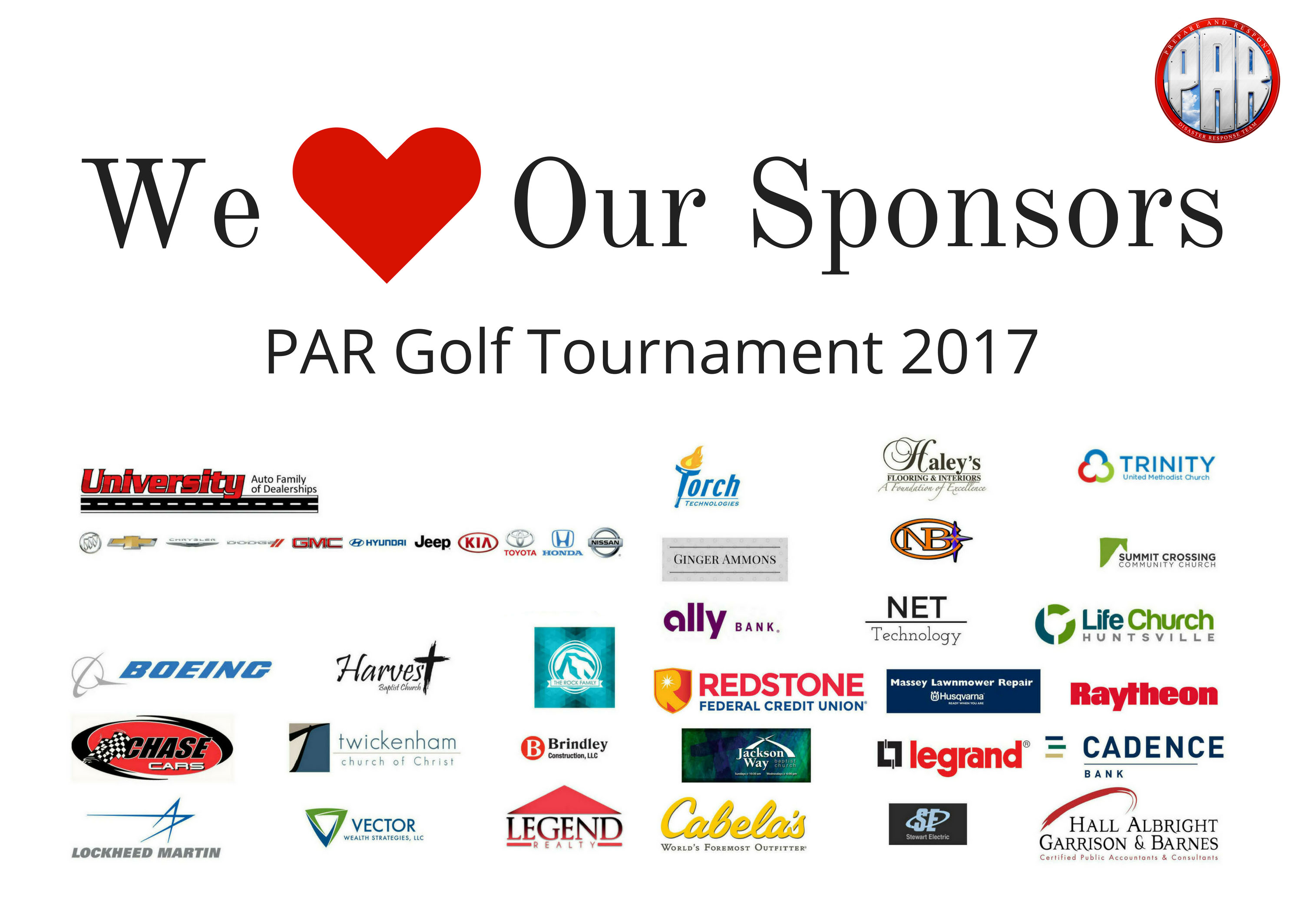 Sponsor-We Love Our Sponsors 2017 FB