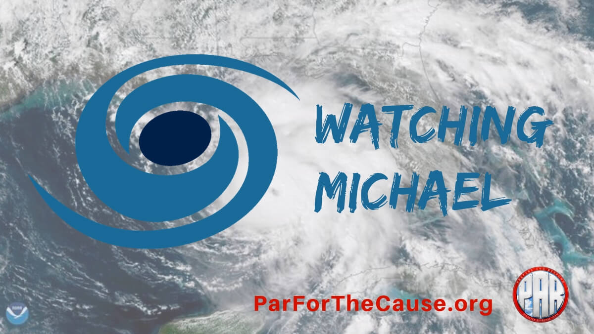 Watching Hurricane Michael