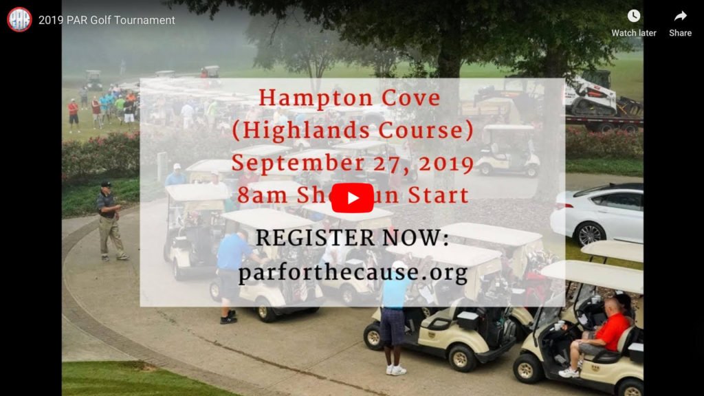 2019 PAR Golf Tournament Video