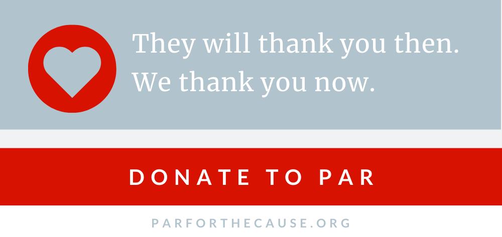 2019 Donate to PAR